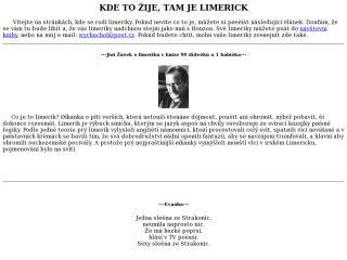 Náhled odkazu http://limerick.ic.cz/