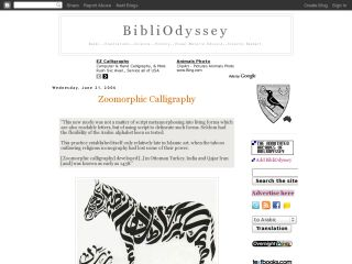 Náhled odkazu http://bibliodyssey.blogspot.cz/2006/06/zoomorphic-calligraphy.html