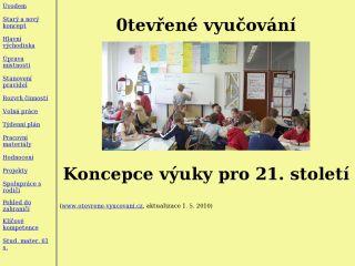 Náhled odkazu http://www.otevrene-vyucovani.cz/ov/