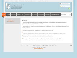 Náhled odkazu http://www.ippp.cz/