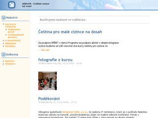 Náhled odkazu https://www.nebelvir.cz/