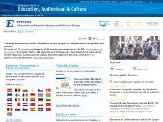 Náhled odkazu http://eacea.ec.europa.eu/education/eurydice/index_en.php