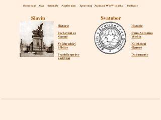 Náhled odkazu http://www.slavin.cz/