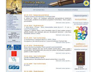 Náhled odkazu http://www.tvorivaskola.cz/