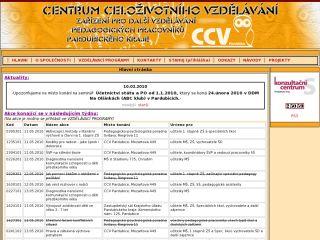 Náhled odkazu http://www.ccvpardubice.cz/new/