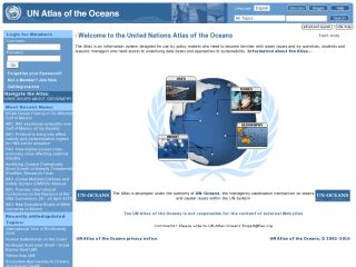 Náhled odkazu http://www.oceansatlas.com/