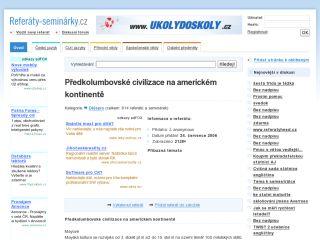 Náhled odkazu http://referaty-seminarky.cz/predkolumbovske-civilizace-na-americkem-kontinente/
