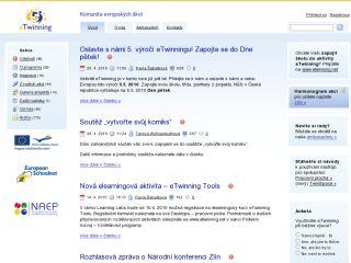 Náhled odkazu http://www.etwinning.cz