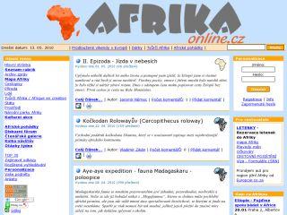Náhled odkazu http://www.afrikaonline.cz/