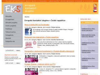 Náhled odkazu http://www.ekscr.cz