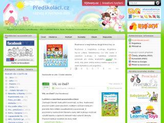 Náhled odkazu http://www.predskolaci.cz/