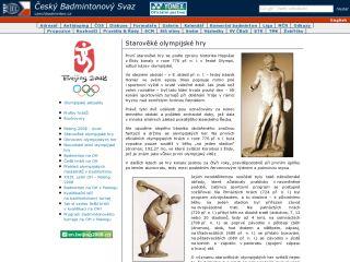 Náhled odkazu http://czechbadminton.cz/html/news/peking/staroveke-olympijske-hry.htm