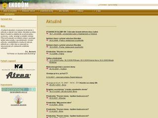 Náhled odkazu http://www.sdruzeni-ekodum.cz/