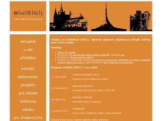 Náhled odkazu http://www.auccj.cz/