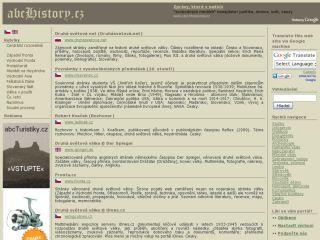Náhled odkazu http://www.abchistory.cz/2-druha-svetova-valka/