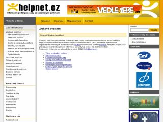 Náhled odkazu http://www.helpnet.cz