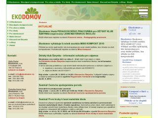 Náhled odkazu http://www.ekodomov.cz