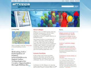 Náhled odkazu http://www.emapps.info/