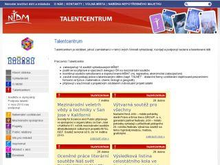 Náhled odkazu http://znv.nidv.cz/talentcentrum