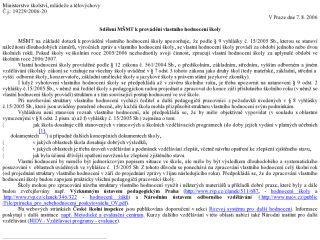 Náhled odkazu http://www.msmt.cz/ministerstvo/sdeleni-msmt-k-vlastnimu-hodnoceni-skoly-c-j-19229-2006-20-ze-dne-7-srpna-2006