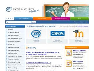 Náhled odkazu http://www.novamaturita.cz/