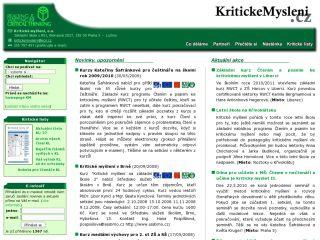 Náhled odkazu http://www.kritickemysleni.cz/facelift_index.php
