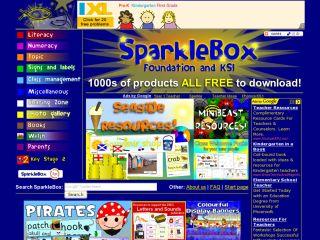 Náhled odkazu http://www.sparklebox.co.uk/index.html
