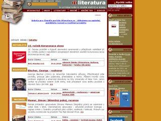 Náhled odkazu http://www.iliteratura.cz/