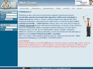 Náhled odkazu http://www.webquest.cz/