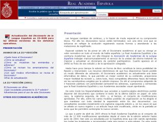 Náhled odkazu http://www.rae.es/