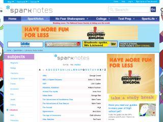 Náhled odkazu http://www.sparknotes.com/sparknotes/