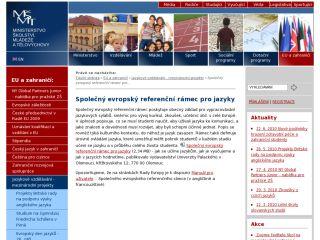 Náhled odkazu http://www.msmt.cz/mezinarodni-vztahy/spolecny-evropsky-referencni-ramec-pro-jazyky