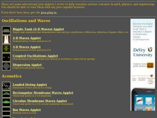 Náhled odkazu http://www.falstad.com/mathphysics.html