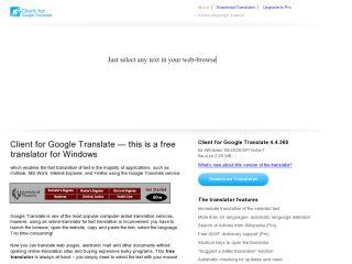 Náhled odkazu http://translateclient.com/