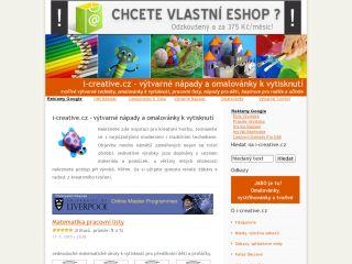 Náhled odkazu http://www.i-creative.cz/