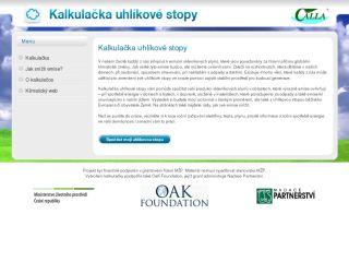 Náhled odkazu http://kalkulacka.zmenaklimatu.cz/