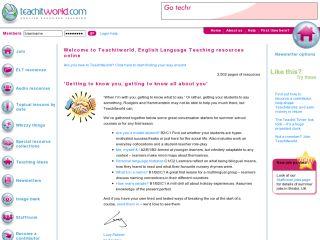 Náhled odkazu http://www.teachitlanguages.co.uk/