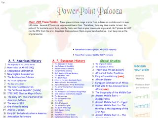 Náhled odkazu http://www.pptpalooza.net/