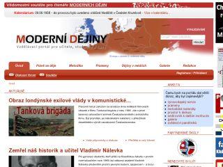Náhled odkazu http://www.moderni-dejiny.cz