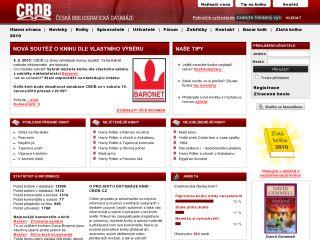 Náhled odkazu http://www.cbdb.cz/