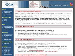 Náhled odkazu http://nahlizenidokn.cuzk.cz/