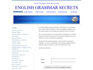 Náhled odkazu http://www.englishgrammarsecrets.com