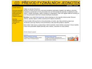 Náhled odkazu http://www.prevod.cz/