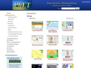 Náhled odkazu https://phet.colorado.edu/en/simulations/category/biology