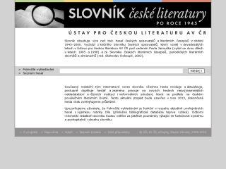 Náhled odkazu http://www.slovnikceskeliteratury.cz/