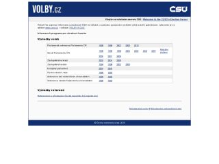 Náhled odkazu http://www.volby.cz/