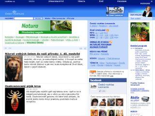 Náhled odkazu http://www.rozhlas.cz/leonardo/priroda