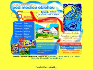 Náhled odkazu http://www.podmodrouoblohou.cz/