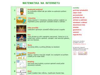 Náhled odkazu http://www.naberanku.cz/vyuka/matematika/zaci/mat01.htm