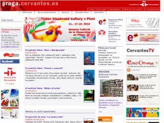 Náhled odkazu http://praga.cervantes.es/cz/default.shtm